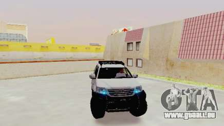 Toyota Fortuner 4WD 2015 Rustica V2 pour GTA San Andreas