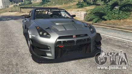Nissan GT-R Nismo GT3 für GTA 5