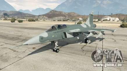 Saab JAS 39 Gripen NG FAB [Beta] für GTA 5