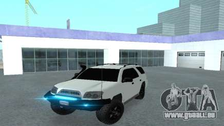 Toyota 4runner 2008 semi-off_road LED für GTA San Andreas