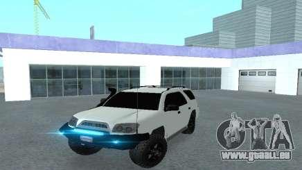 Toyota 4runner 2008 semi-off_road LED pour GTA San Andreas