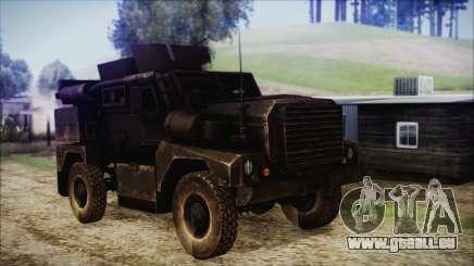 Cougar MRAP 4x4 für GTA San Andreas
