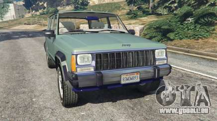 Jeep Cherokee XJ 1984 [Beta] pour GTA 5
