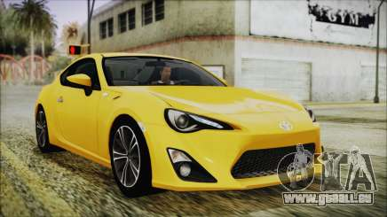 Toyota GT86 (ZN6) 2012 HD Algeria PJ pour GTA San Andreas
