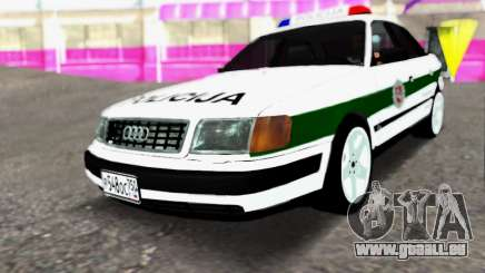Audi 100 C4 1995 Police pour GTA San Andreas