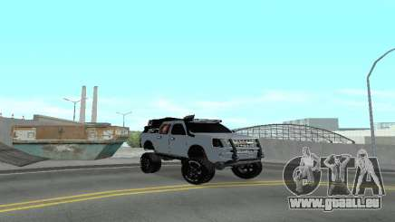 Chevrolet Luv D-MAX 2015 OFF-ROAD ALL-TERRAIN pour GTA San Andreas