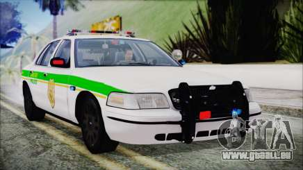 Ford Crown Victoria Miami Dade v2.0 pour GTA San Andreas