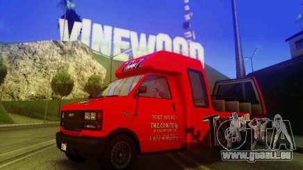 TMZ Tourbus pour GTA San Andreas