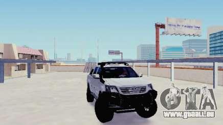 Toyota Hilux Rustica v2 2015 pour GTA San Andreas
