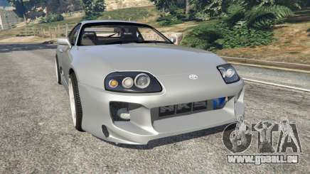 Toyota Supra JZA80 v1.1 für GTA 5