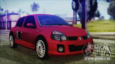 Renault Clio v6 Tunable pour GTA San Andreas