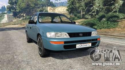 Toyota Corolla 1.6 XEI v1.02 pour GTA 5