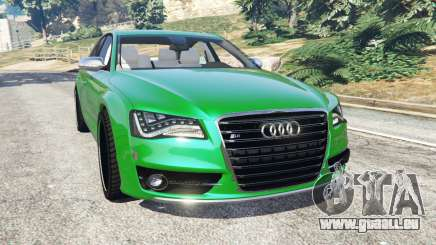 Audi S8 Quattro 2013 pour GTA 5