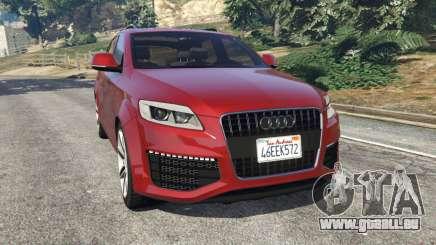 Audi Q7 2010 pour GTA 5