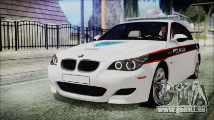 BMW M5 E60 Bosnian Police pour GTA San Andreas