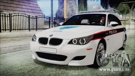 BMW M5 E60 Bosnian Police für GTA San Andreas