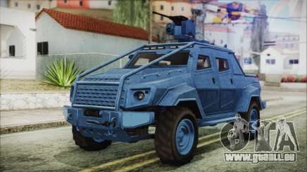 GTA 5 HVY Insurgent Pick-Up IVF pour GTA San Andreas