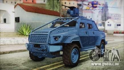 GTA 5 HVY Insurgent Pick-Up IVF für GTA San Andreas