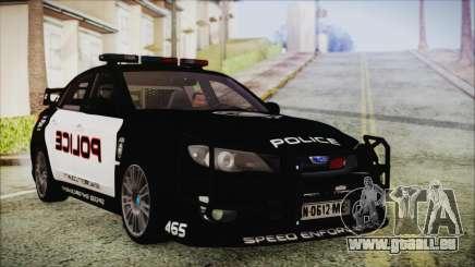 Subaru Impreza Police für GTA San Andreas