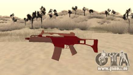 Weihnachten G36c camo für GTA San Andreas