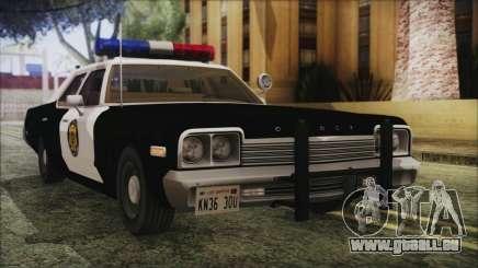 Dodge Monaco 1974 LVPD IVF für GTA San Andreas