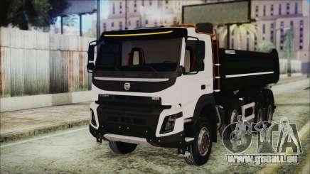 Volvo FMX Euro 6 Snow pour GTA San Andreas
