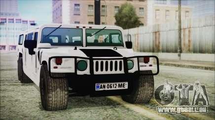 Hummer H1 Limo 6x6 für GTA San Andreas