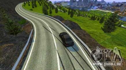 Col Du Stelvio Piste pour GTA 4