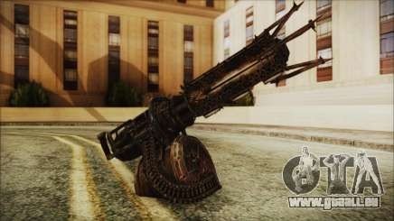 Fallout 4 Shredding Minigun pour GTA San Andreas
