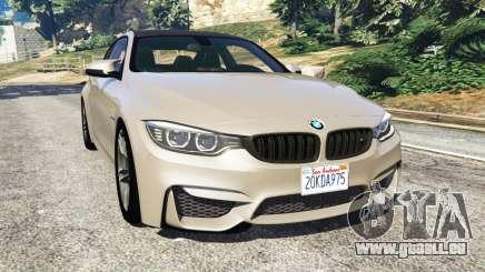 BMW M4 2015 v1.1 pour GTA 5
