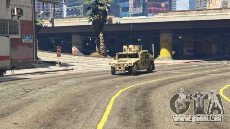 GTA 5 M1116 Humvee Up-Armored 1.1 vorne rechts Seitenansicht