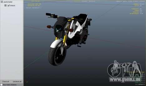 Honda MSX 125 pour GTA 5