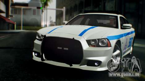 Dodge Charger SRT8 2015 Police Malaysia für GTA San Andreas