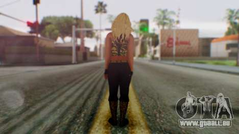 WWE Kaitlyn pour GTA San Andreas troisième écran
