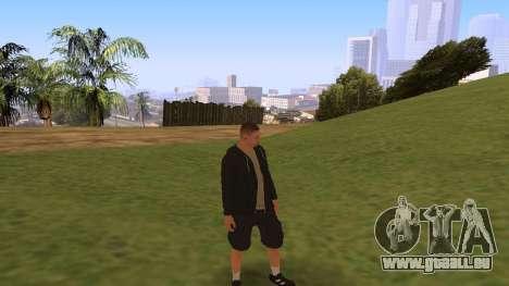 Time Animation pour GTA San Andreas troisième écran