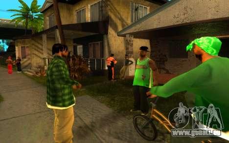 Die Wiederbelebung der Straße ganton für GTA San Andreas