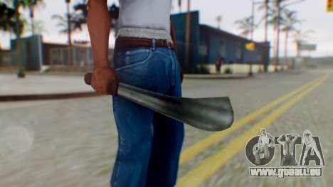 Vice City Machete pour GTA San Andreas troisième écran
