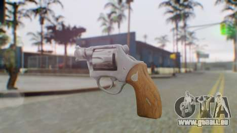 Charter Arms Undercover Revolver pour GTA San Andreas deuxième écran