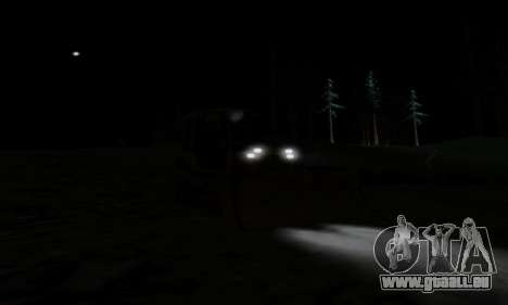 New Dozer pour GTA San Andreas vue intérieure