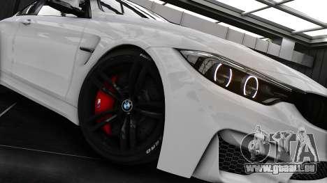 BMW M4 F82 2015 pour GTA 4 Vue arrière