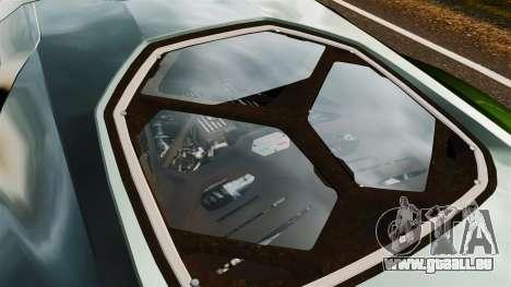 Lamborghini Asterion LP900 pour GTA 4 Vue arrière