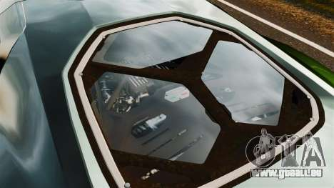 Lamborghini Asterion LP900 für GTA 4 Rückansicht