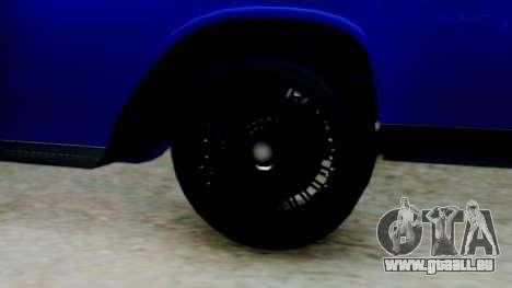GTA 5 Vapid Chino Tunable IVF für GTA San Andreas zurück linke Ansicht