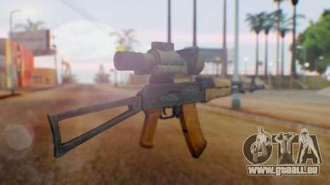 Arma OA AK-47 Night Scope für GTA San Andreas zweiten Screenshot