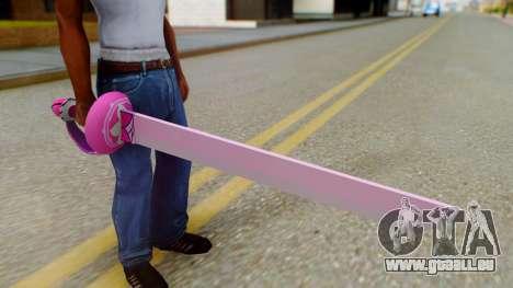 Rose Sword from Steven Universe für GTA San Andreas dritten Screenshot