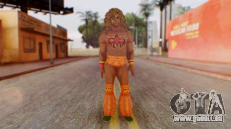 U Warrior für GTA San Andreas zweiten Screenshot