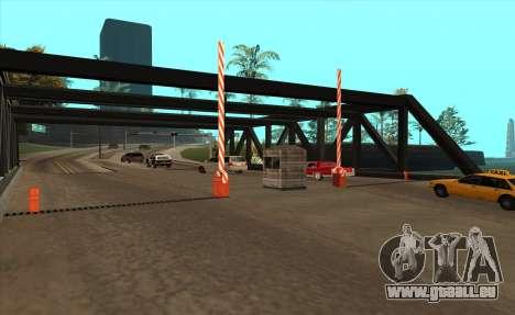 Personnalisé pour GTA San Andreas deuxième écran