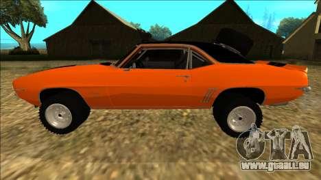 Chevrolet Camaro SS Rusty Rebel pour GTA San Andreas