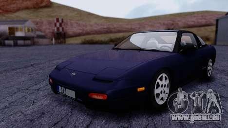 Nissan 240SX SE 1994 Stock pour GTA San Andreas vue de droite