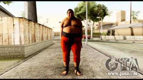 Yokozuna für GTA San Andreas zweiten Screenshot